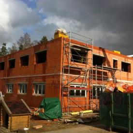Строительство здания офиса