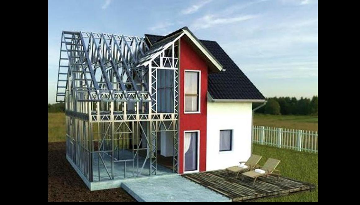 Cтроительство дома из монолитного пенобетона