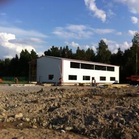 Строительство склада