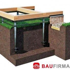 Фундаменты для загородного дома