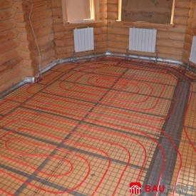 Установка системы отопления в загородном доме